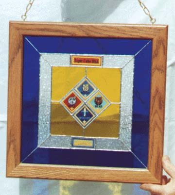 Cub Scout Picture Frame Image collections - origami instructions ...